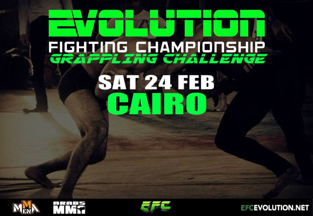 'The Egyptian Zombie' Wins at Evolution Championship Grappling II